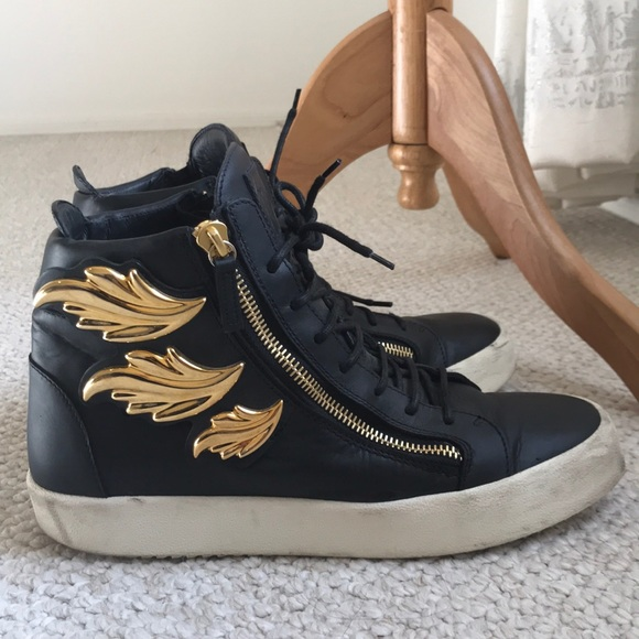 Giuseppe Mens Wing Shoes Firm 000